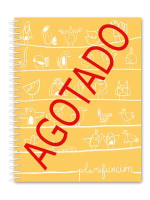 Cuaderno de planificación pajaritos AGOTADO