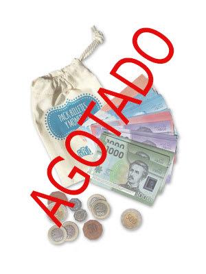 Pack billetes y monedas AGOTADO