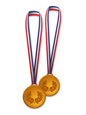 Medallas de cartón