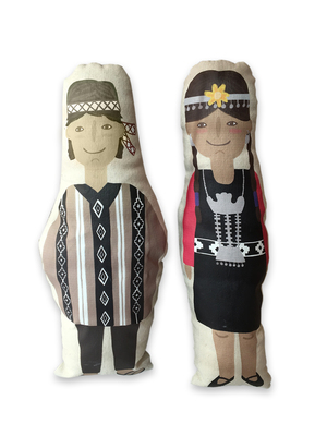 Muñecos mapuche