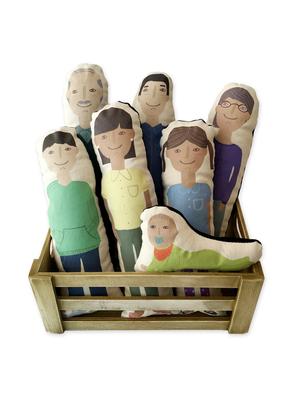 Set muñecos familia