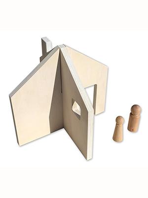 Casa de muñecas minimal