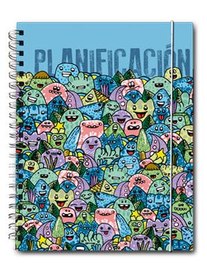 Cuaderno de planificación Brito Azul