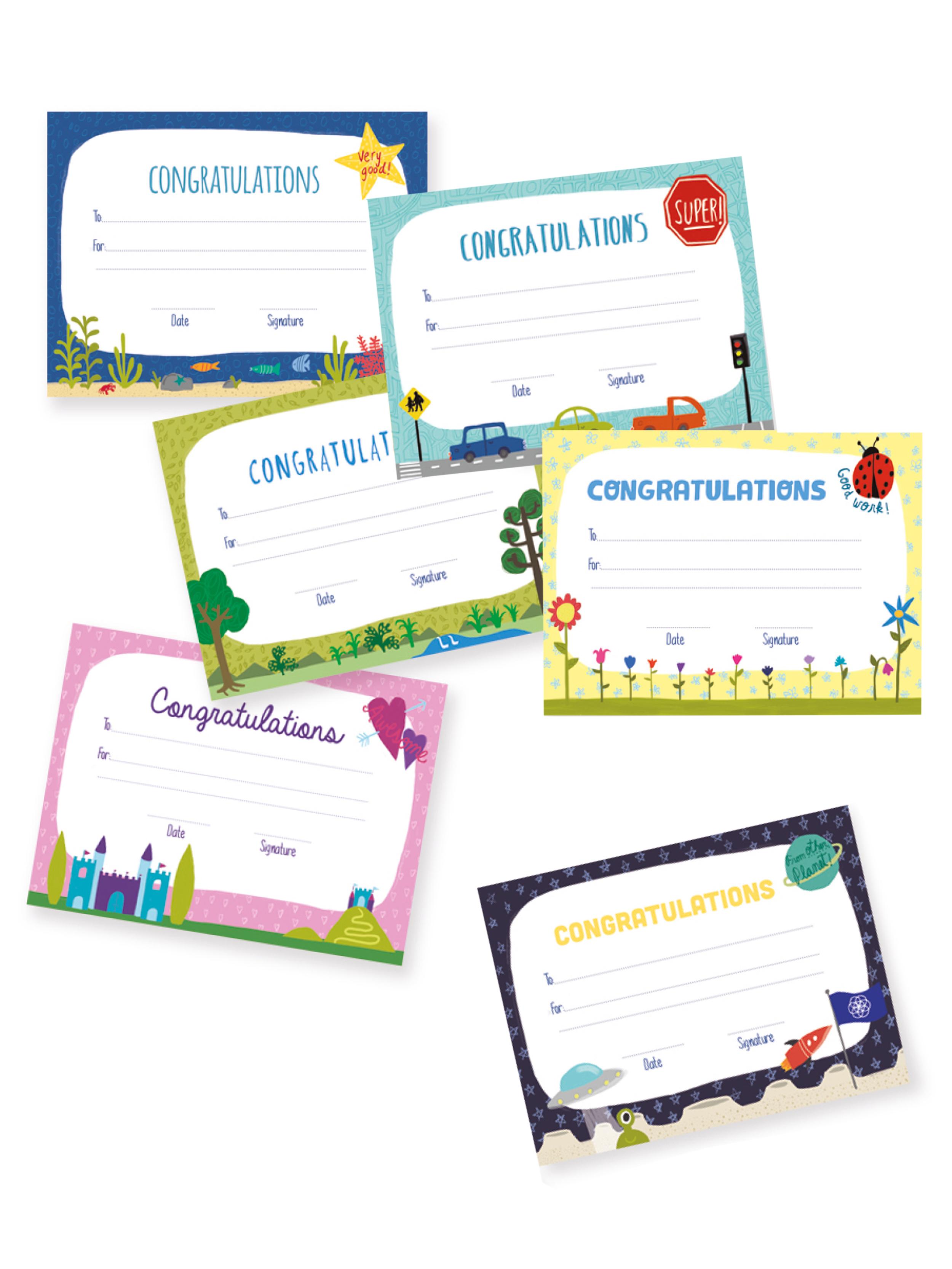 Diplomas infantil inglés