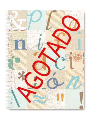 Planificador anual tipografía AGOTADO