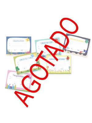 Diplomas escolares inglés AGOTADO