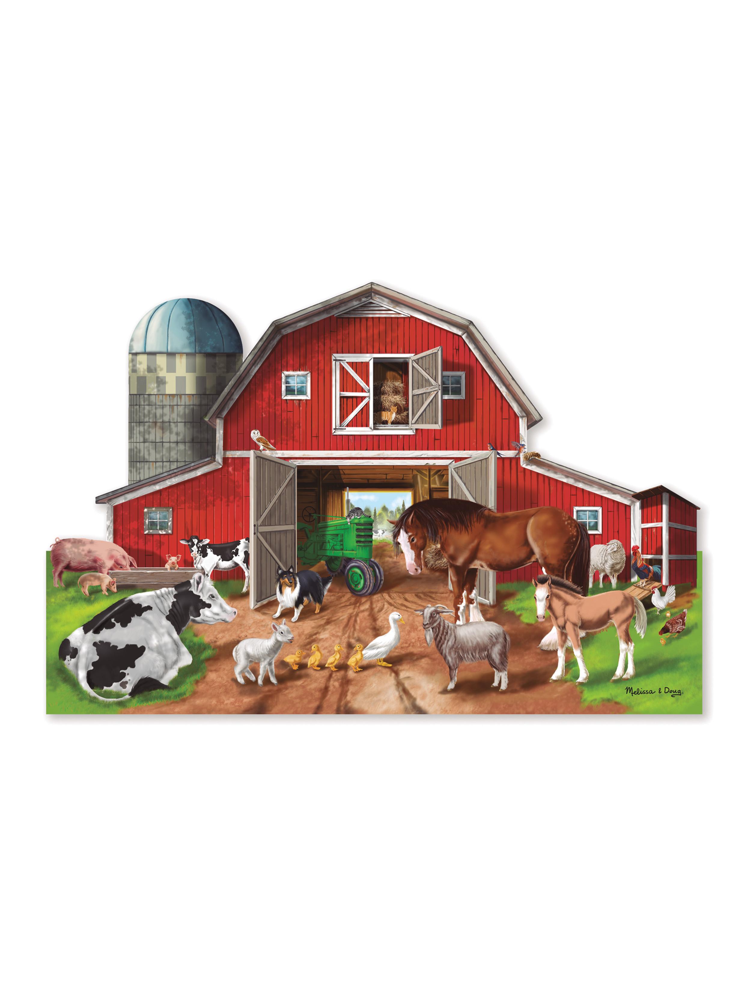 Puzzle de suelo granja