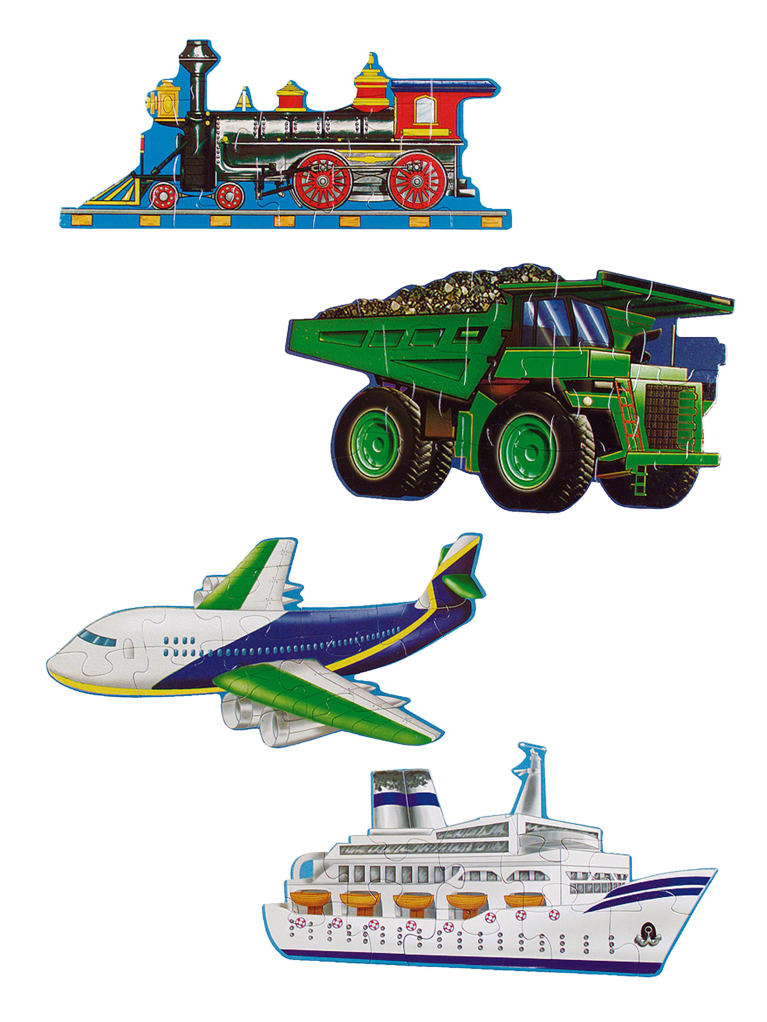 Puzzle transportes