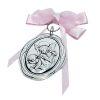 """Medalla Cuna """"Ángel de la Guarda"""" - Rosada"""