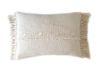 Cojin telar algodón crudo