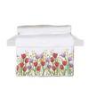 Toalla baño Jardín de Flores Tulipán Rojo