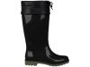 MELISSA RAIN BOOT AD BLACK/GREEN