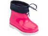MINI MELISSA RAIN BOOT BB WHITE/PINK/BLUE
