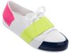 MELISSA CREW LOW AD WHITE/GREEN/PINK