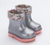 MINI MELISSA RAIN BOOT + ROSEBLEU BB GLITTER CLEAR/PINK