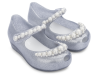 MINI MELISSA ULTRAGIRL GIRLY BB CLEAR/SILVER GLITTER
