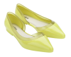 MELISSA CLEO AD YELLOW/YELLOW CLEAR