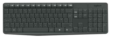 Kit Teclado Mouse Inalambrico Mk235 Logitech1