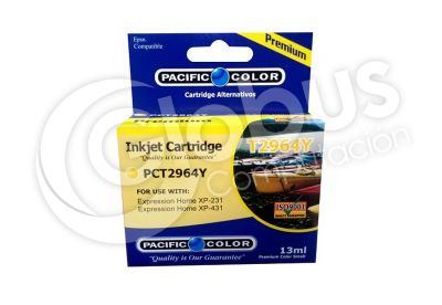 Cartridge T2964 Yellow Pacifc Color 1