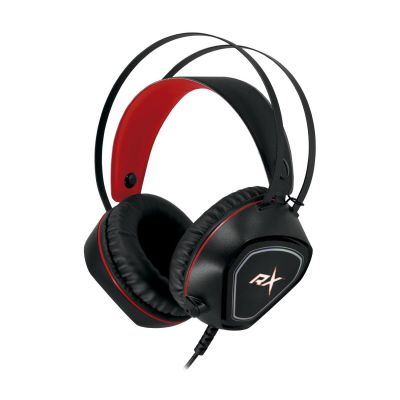 Audifonos Gamer Usb Reptilex Rojo 1