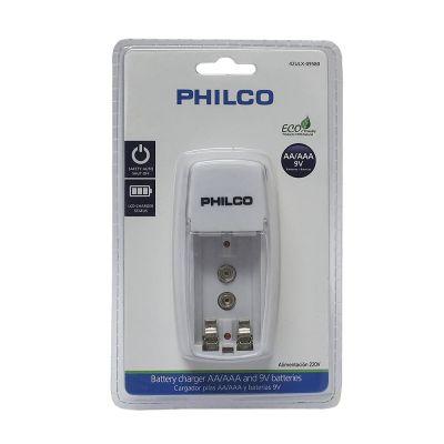 Cargador Pilas AA/AAA X2 Philco1