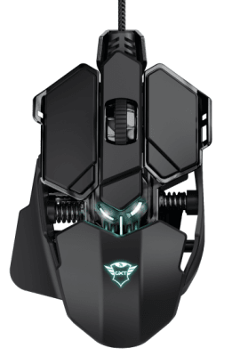Mouse Gamer Gxt 138 X-Ray Rgb Trust1