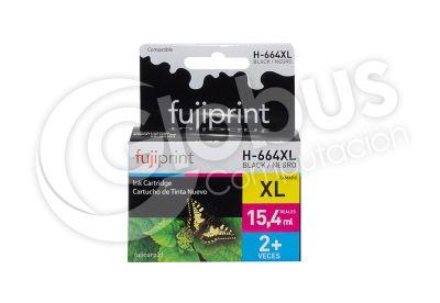 Cartridge Hp 664Xl Negro Fujiprint1