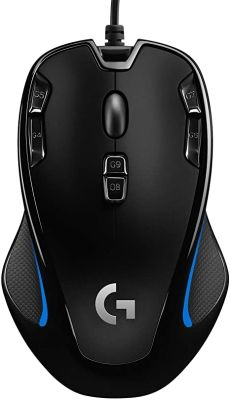 Mouse Gamer Alambrico G300S Logitech1