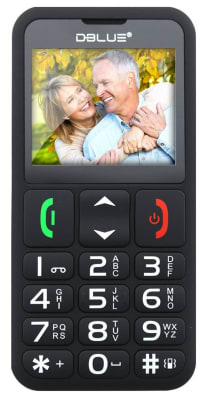 Teléfono Senior Para Adulto Mayor Dblue1