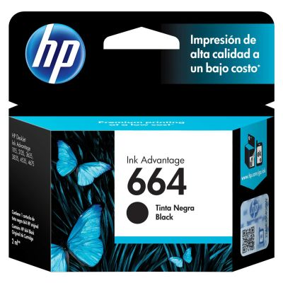 Cartridge Hp 664 Black1