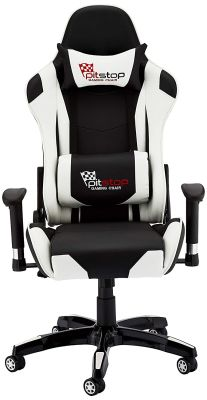 Silla Gamer Dbg528 Blanco/Negro Dblue2