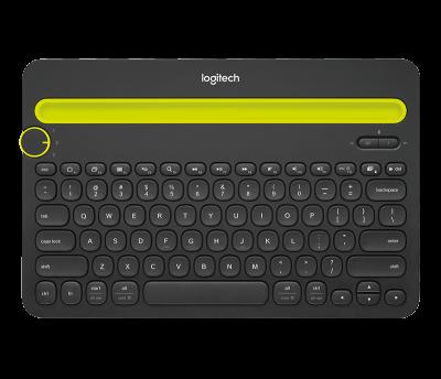Teclado Bluetooth K480 Logetich1
