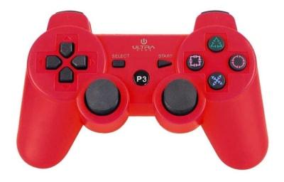 Control de PlayStation 3 Rojo Ultra1