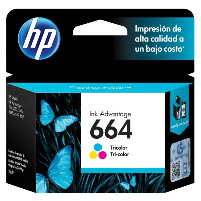 Cartridge Hp 664 Tricolor1