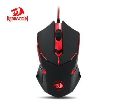 Mouse Gamer Centrophorus M601 Red Dragon2