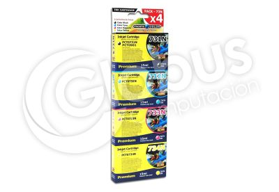 Cartridge Pack 731-732-733-734 Pacific Color1