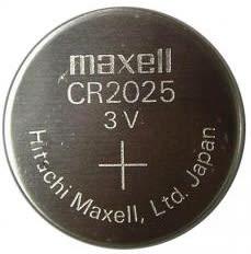 Bateria Lithium CR2025 Maxell1