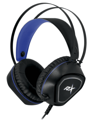 Audífono Gamer Jack 3.5 Ps4 Azul Reptilex1