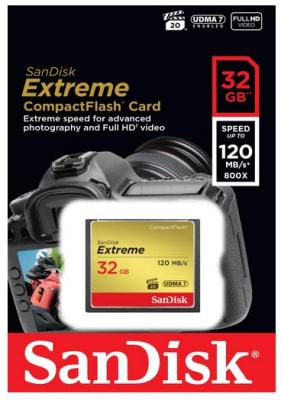 Memoria Compact Flash 32Gb Sandisk1