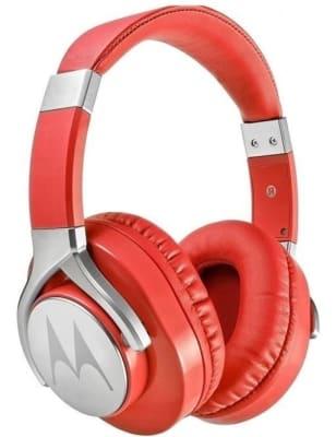Audifono Pulse Max Over Ear Rojo Motorola1