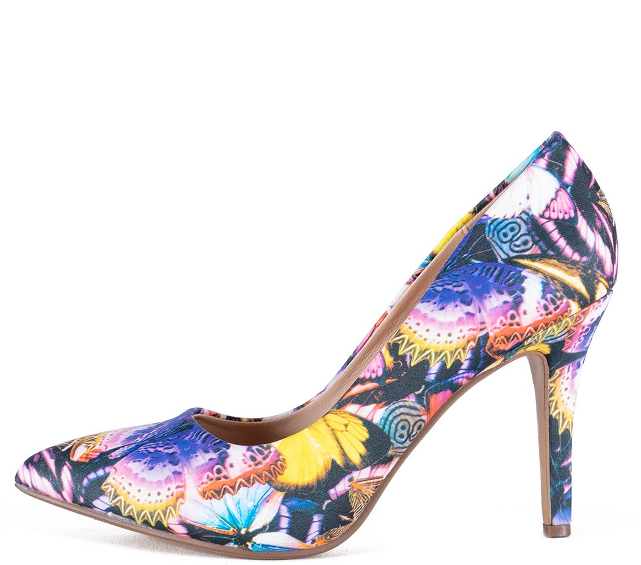 Zapato de fiesta mariposas
