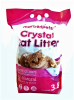 Arena Sanitaria Crystal Cat Litter 3,8 Lts