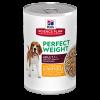 Hills Canino Lata Adult Perfect Weight ch& veg 12,8 OZ