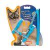 Arnes para gato ajustable con brillos Marben Pets
