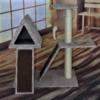 Rascador Casa Triánguo