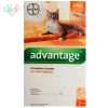 ADVANTAGE PIPETA GATOS HASTA 4 Kg.