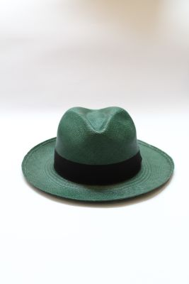 PANAMA HAT VERDE OSCURO1