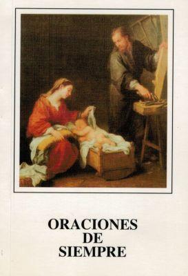 ORACIONES DE SIEMPRE - BLANCO
