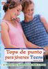TOPS DE PUNTO PARA JOVENES TEENS. SERIE PUNTO Nro3