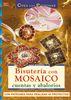 BISUTERIA CON MOSAICO CUENTAS Y ABALORIOS